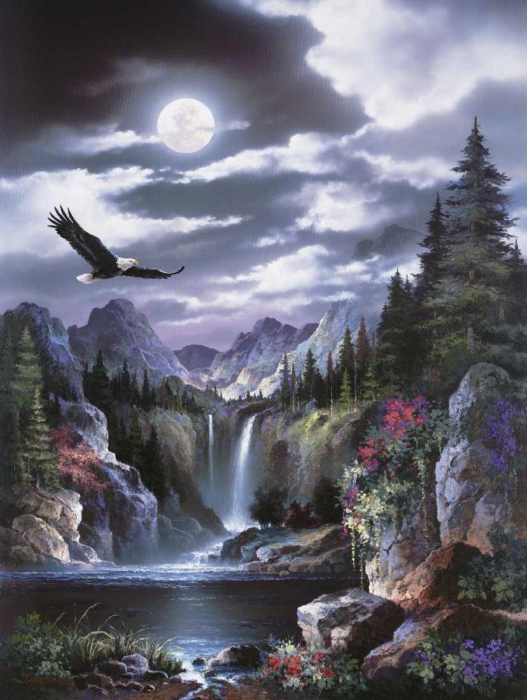 Moonlit Eagle Lee, James 95144