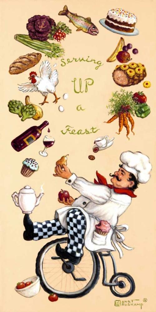 Serving Up A Feast Kruskamp, Janet 95152