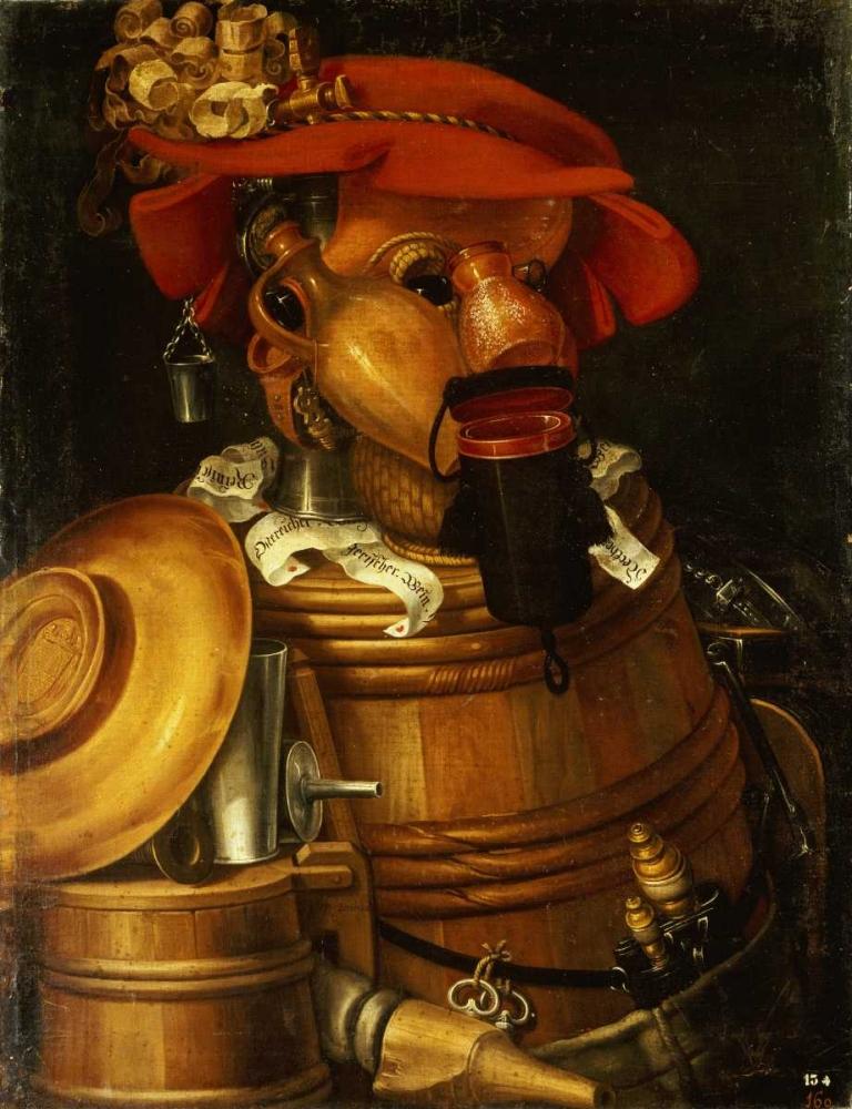 The Waiter: Winemaking Arcimboldo, Giuseppe 88746
