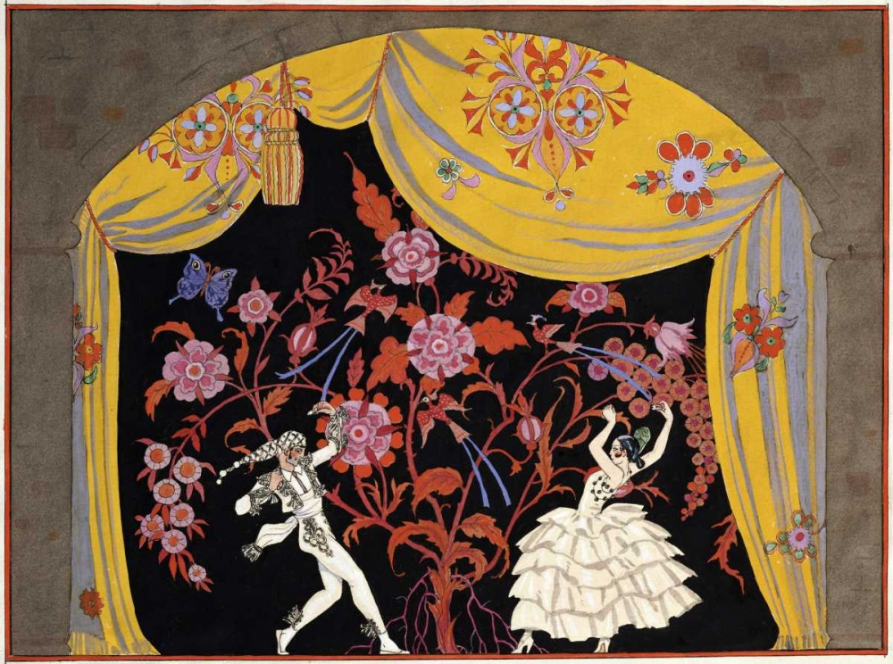 The Flamenco Barbier, Georges 88760