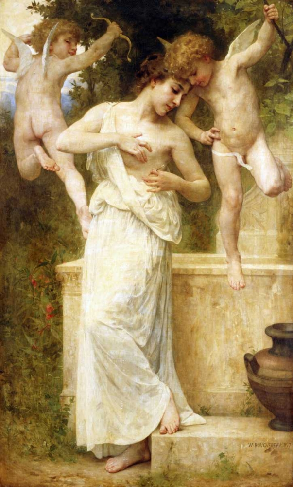 Blessures DAmour Bouguereau, William-Adolphe 88775