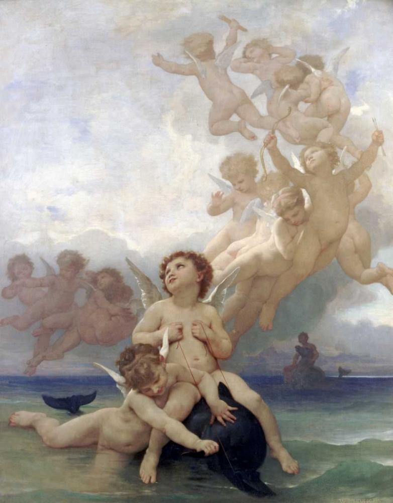 The Birth of Venus Bouguereau, William-Adolphe 88778