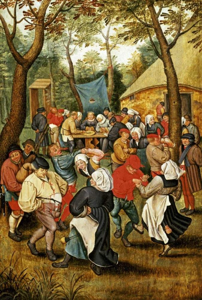 The Wedding Feast Bruegel, Pieter the Elder 88784