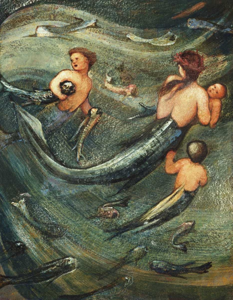 Mermaids In The Deep Burne-Jones, Sir Edward 88786