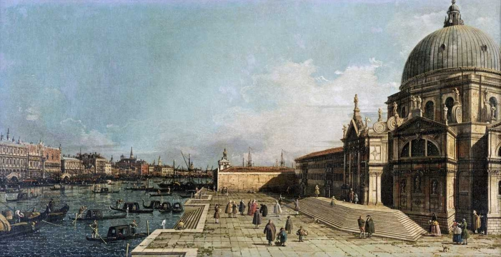 The Entrance To The Grand Canal, Venice Canal, Giovanni Antonio 88795