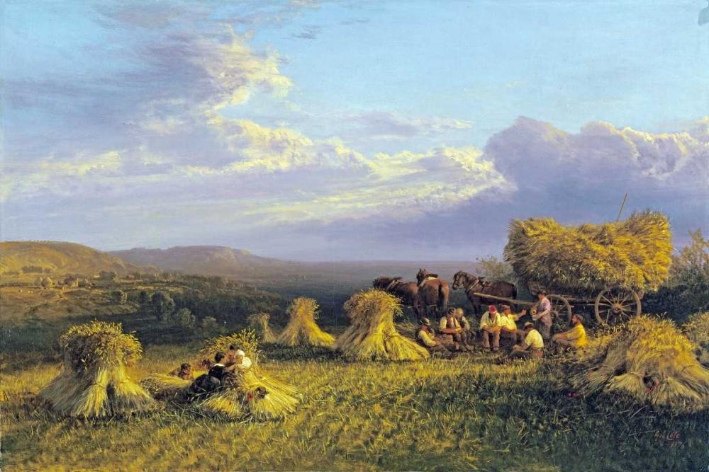 Harvest Scene Cole, George 88826