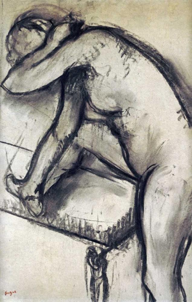 Study of a Dancer Degas, Edgar 88857