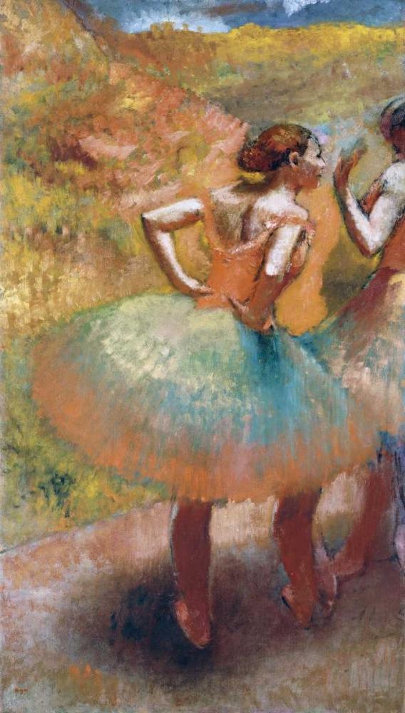 Two Dancers In Green Skirts Degas, Edgar 88860