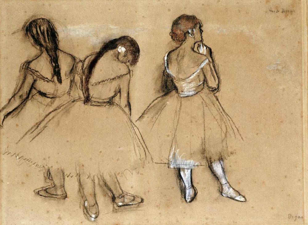 Three Dancers Degas, Edgar 88866