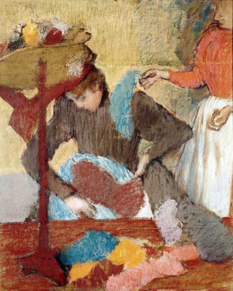 The Hatmaker Degas, Edgar 88869