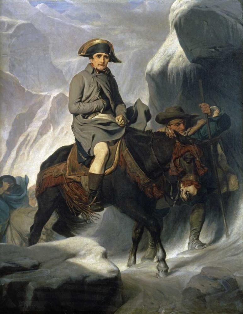Napoleon Crossing The Alps Delaroche, Paul 88874