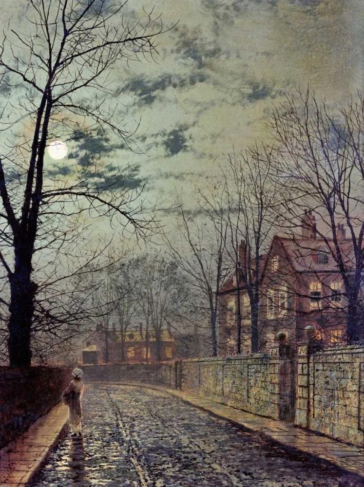 A Moonlit Road Grimshaw, John Atkinson 88913