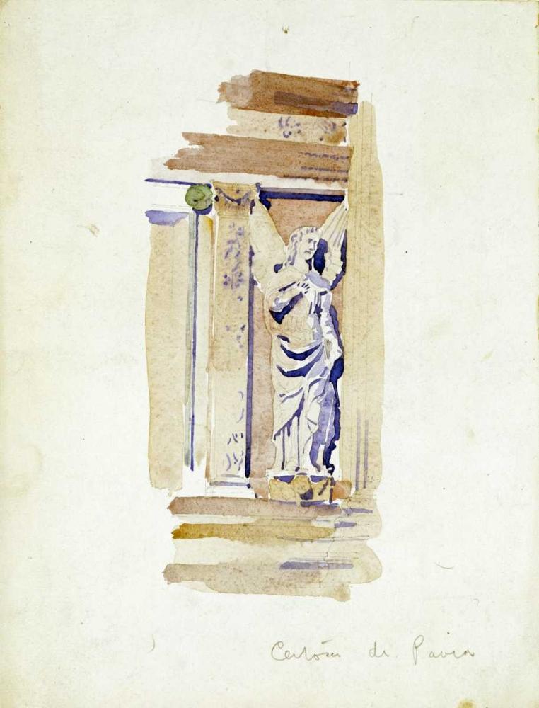 Study of an Angel Statue Mackintosh, Charles Rennie 88992