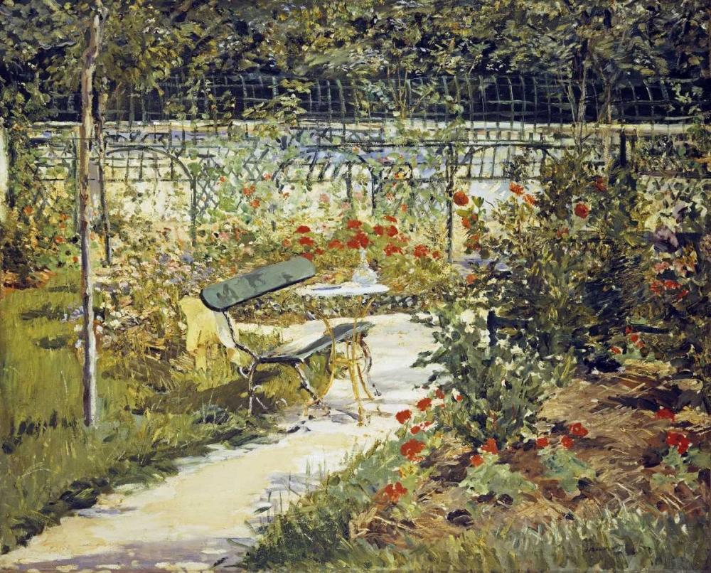 The Bench, Garden at Versailles Manet, Edouard 88999