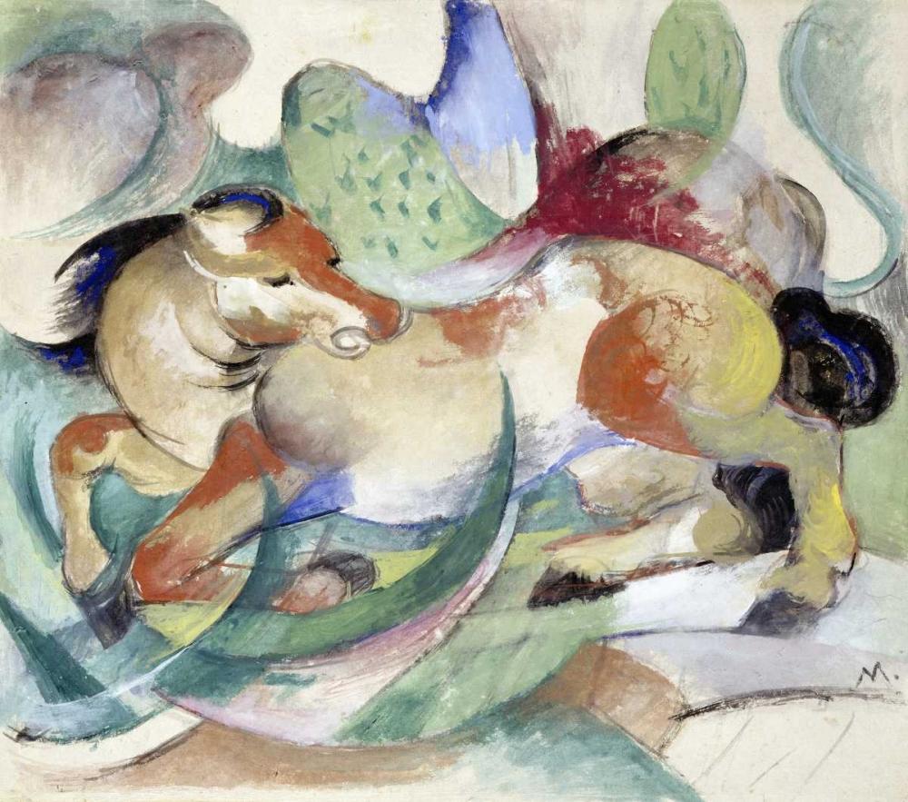 Jumping Horse Marc, Franz 89000