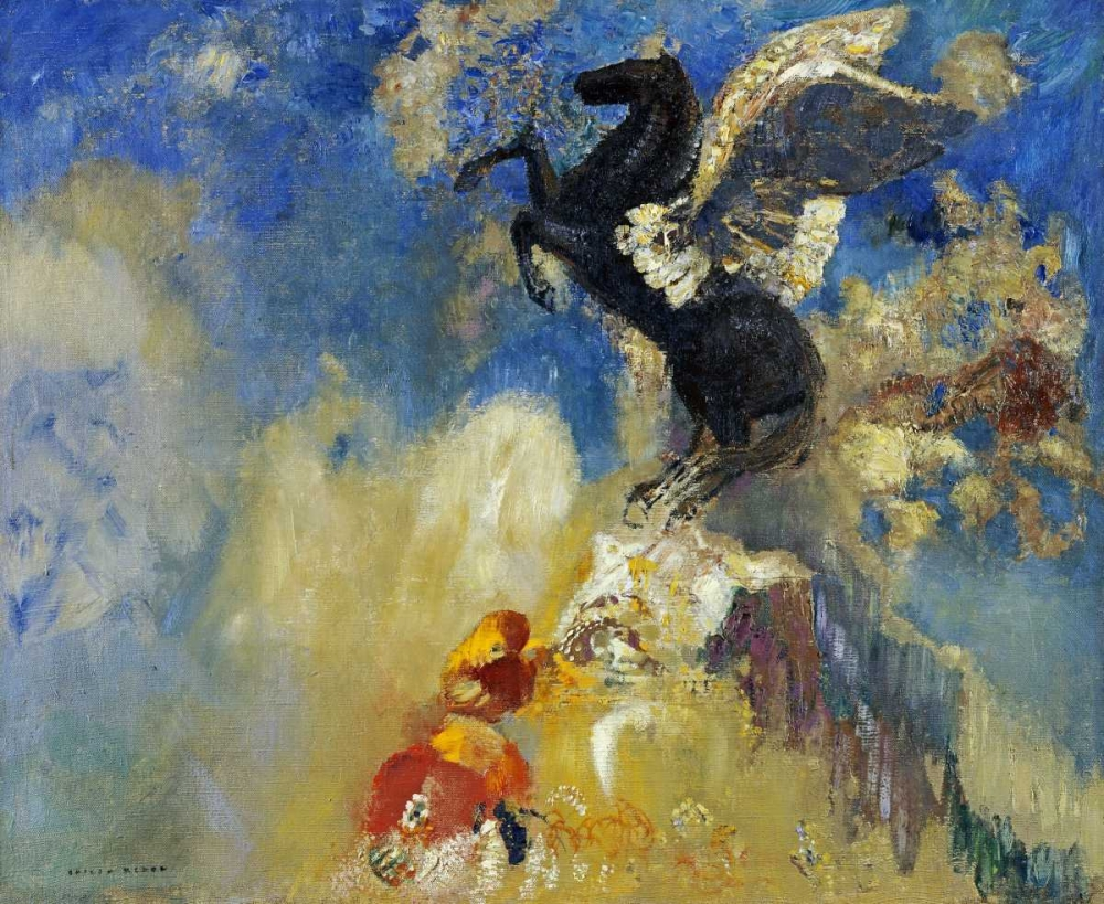 The Black Pegasus Redon, Odilion 89137