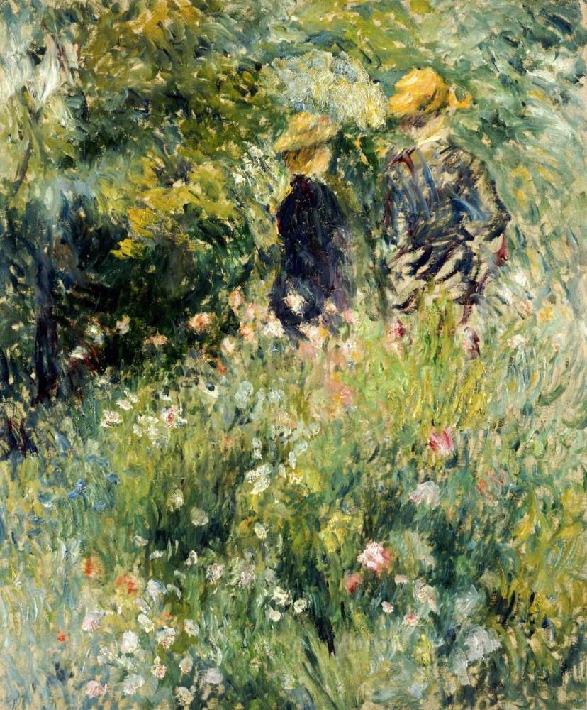 Conversation Dans Une Roseraie Renoir, Pierre-Auguste 89159