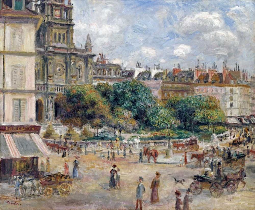 Place De La Trinite Renoir, Pierre-Auguste 89163