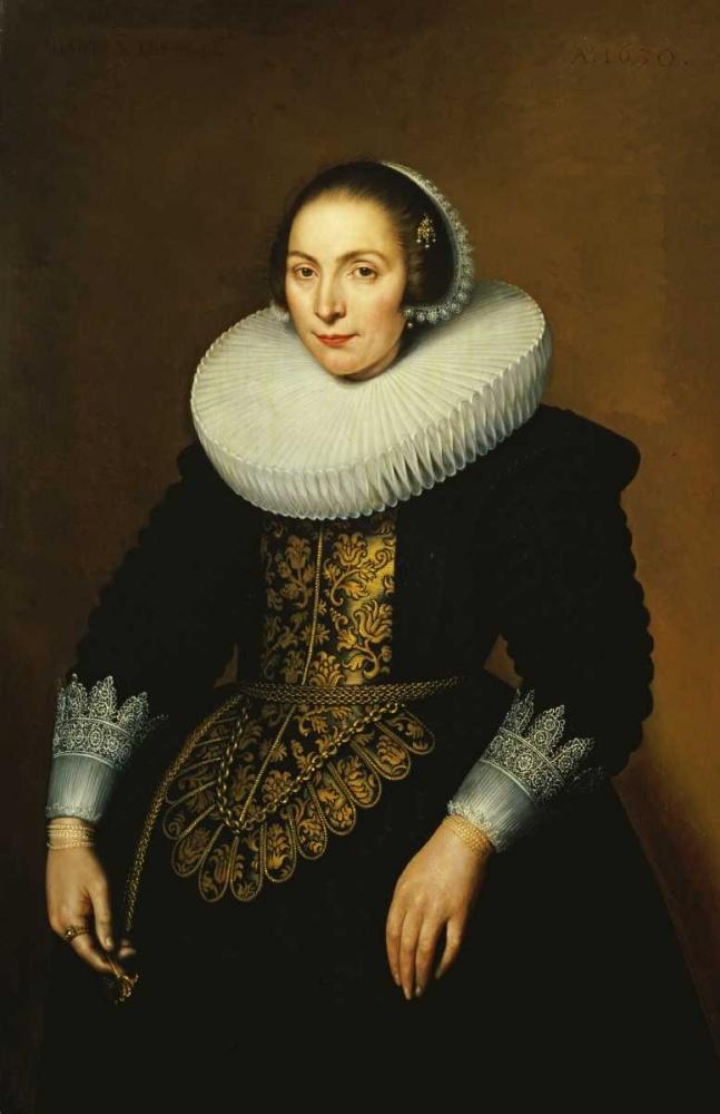 Portrait of a Lady Sarburgh, Bartholomeus 89191