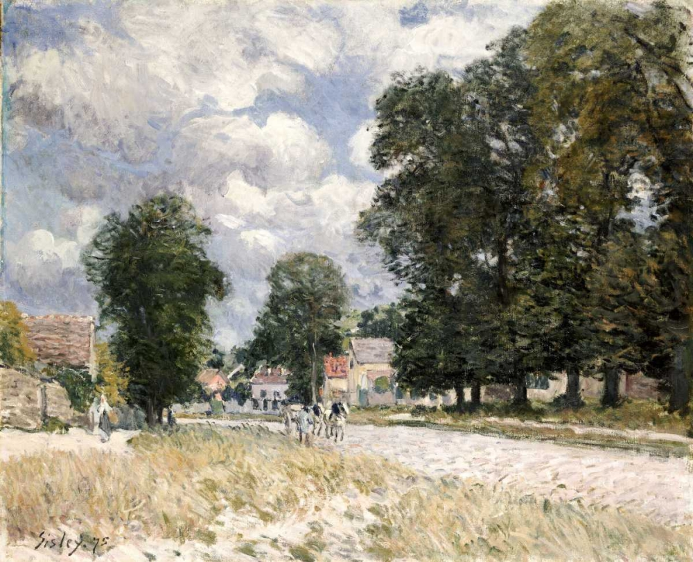 The Road To Marly-Le-Roi Sisley, Alfred 89213