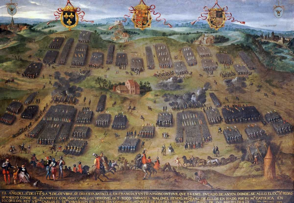 The Battle of Moncontour, 30 October 1569 Snellinck, Jan 89216