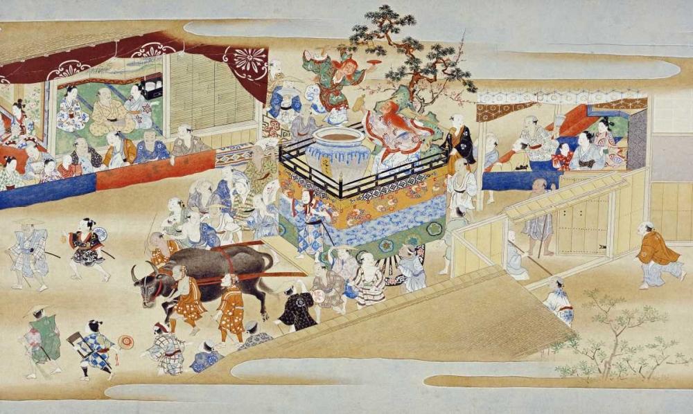 Festival Scene Sumiyoshi School 89235