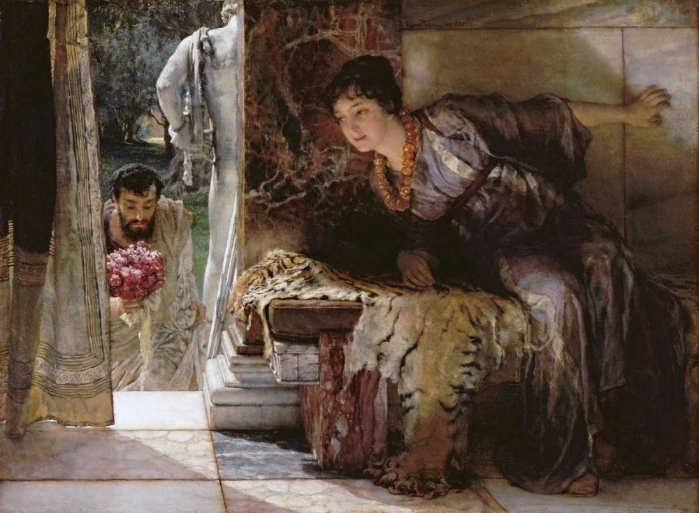 Welcome Footsteps - Well-Known Footsteps Alma-Tadema, Sir Lawrence 89345