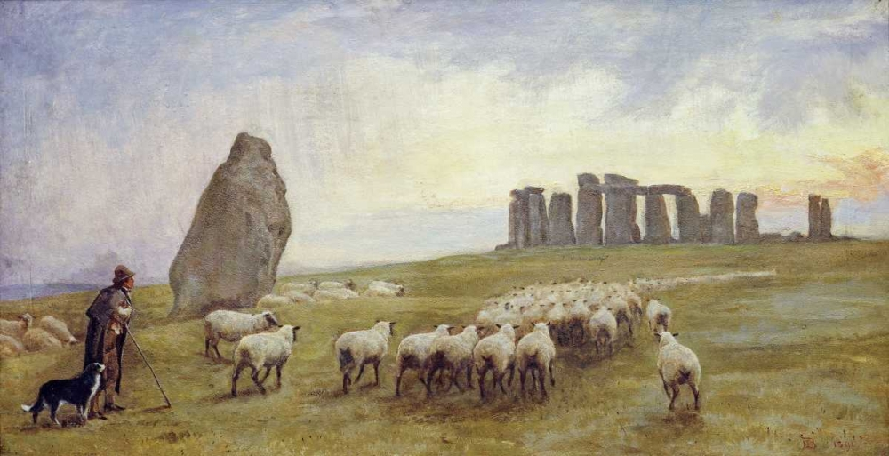 Returning Home, Stonehenge, Wiltshire Barclay, Edgar 89366