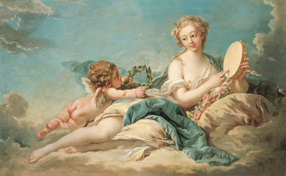 Clio, The Muse of History and Song Boucher, Francois 89396