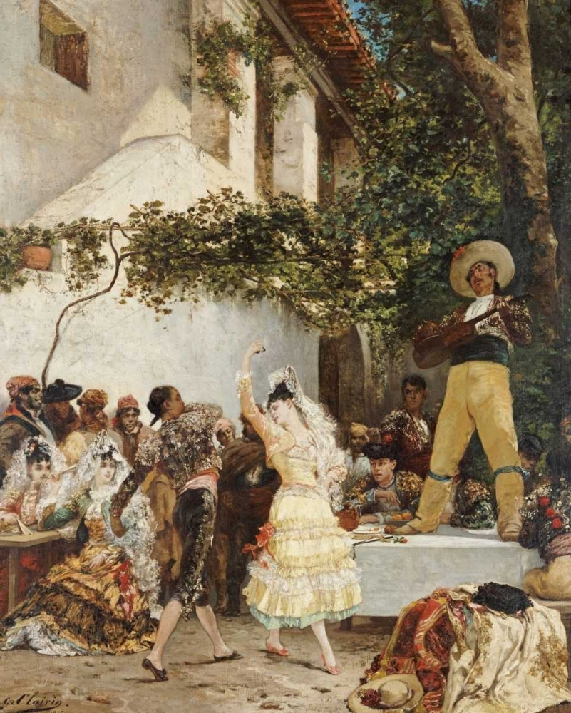 The Spanish Dancers Clarin, Georges Jules Victor 89461