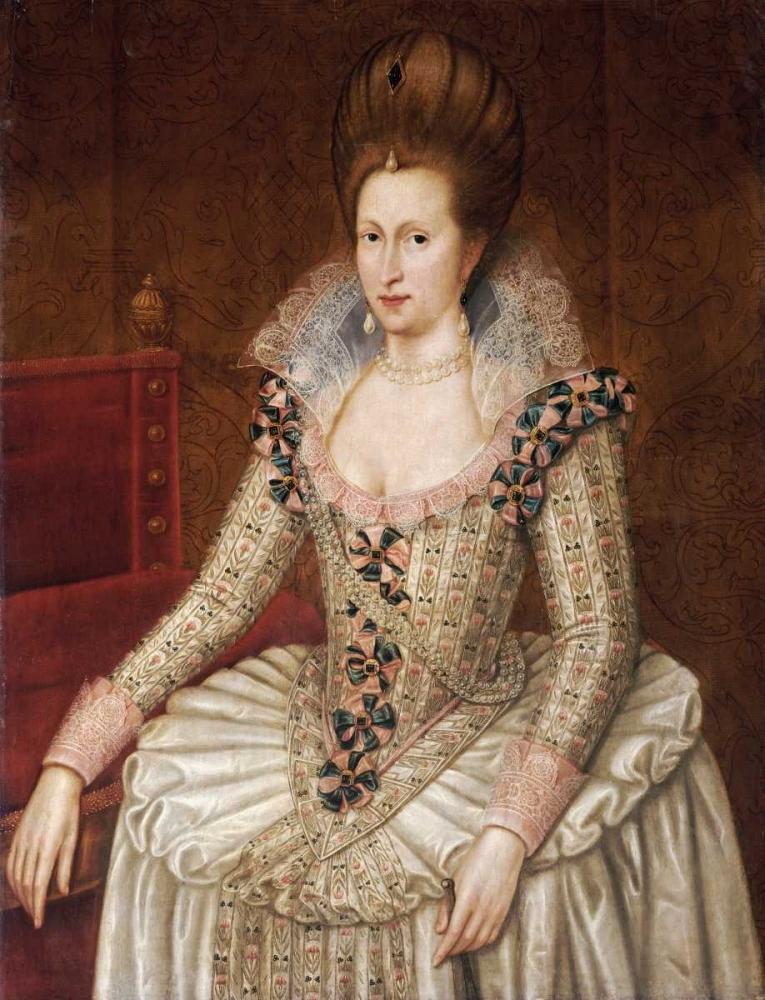 Portrait of Queen Anne of Denmark De Critz, John 89496