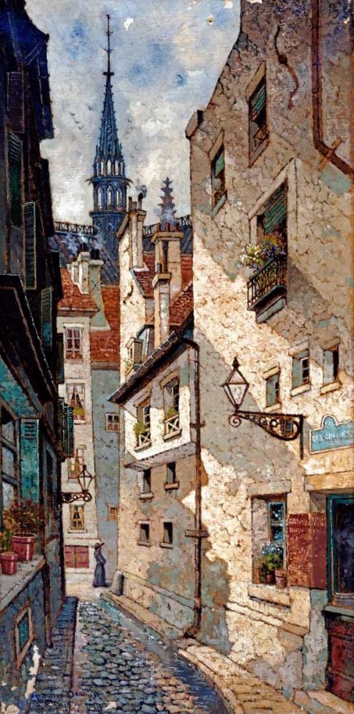 Rue Des Chartres, Old Paris Deakin, Dewin 89504
