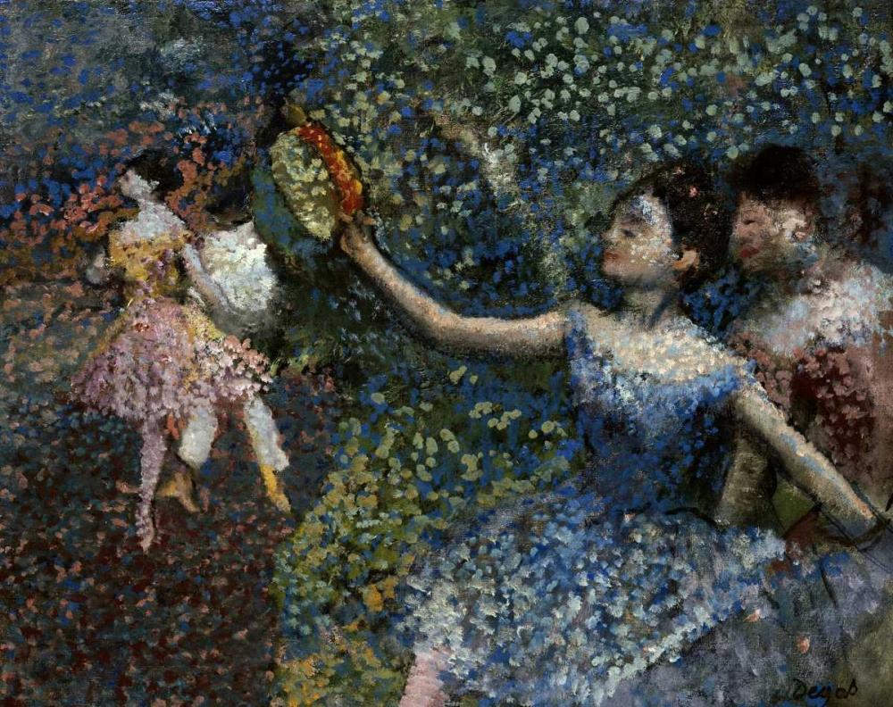 Dancer With a Tambourine Degas, Edgar 89508