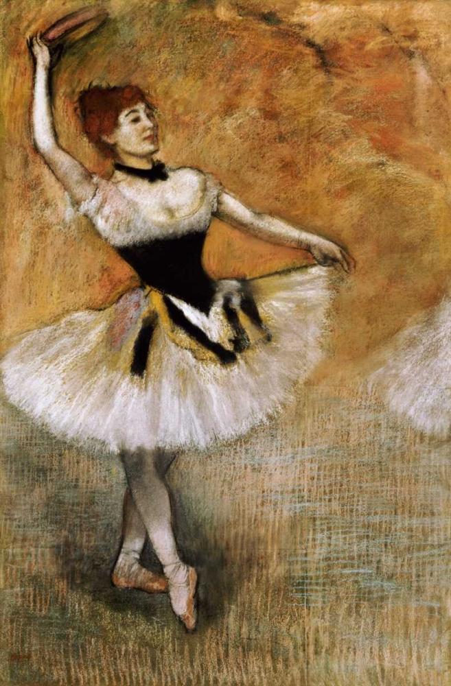 Dancer With a Tambourine Degas, Edgar 89509