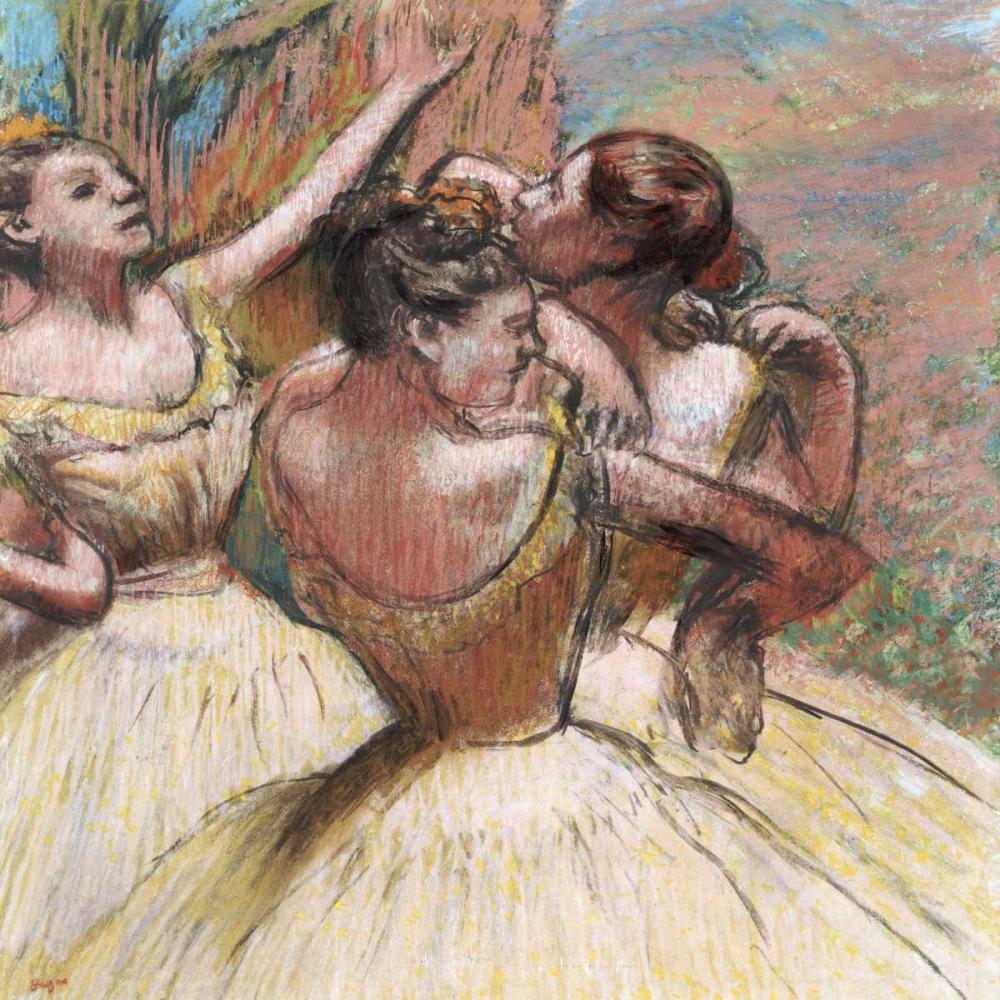Three Dancers Degas, Edgar 89516