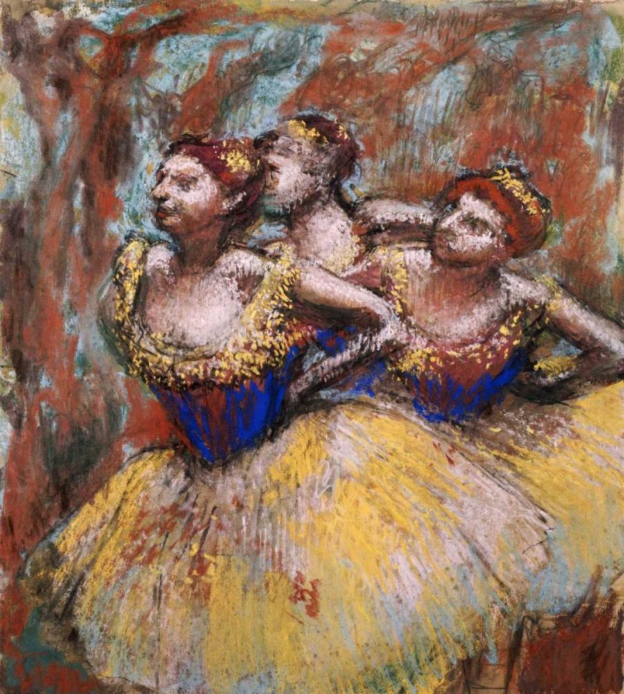 Three Dancers Degas, Edgar 89517