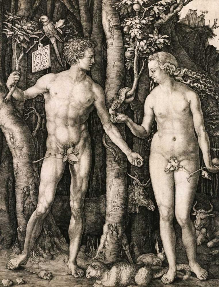 Adam and Eve Durer, Albrecht 89538