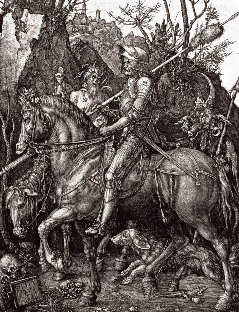 Knight, Death and The Devil Durer, Albrecht 89539