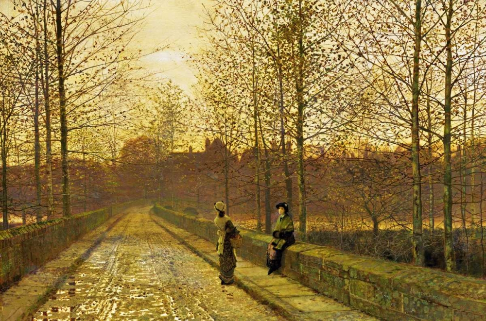 In The Golden Gloaming Grimshaw, John Atkinson 89619