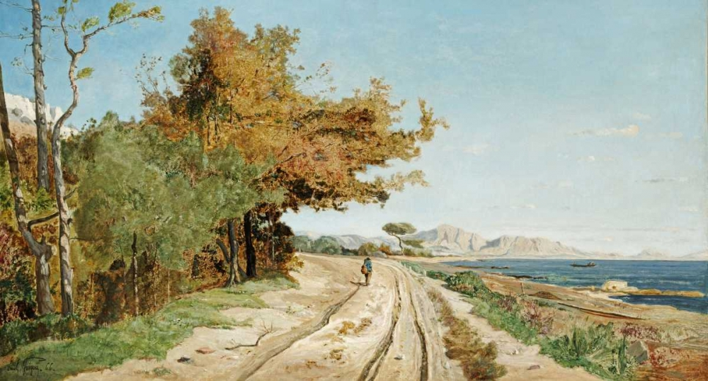 Road On The Edge of The Mediterranean, Near Marseille Guigou, Paul 89632