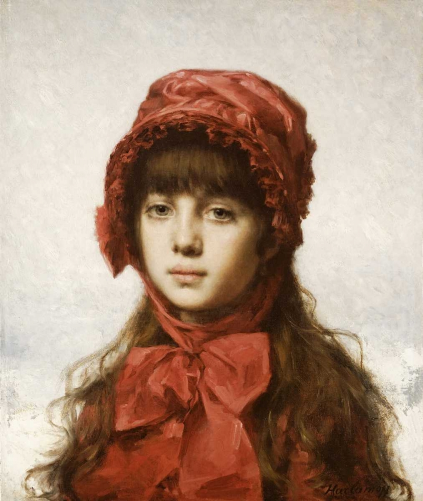 The Red Bonnet Harlamoff, Alexei Alexeiewitsch 89651