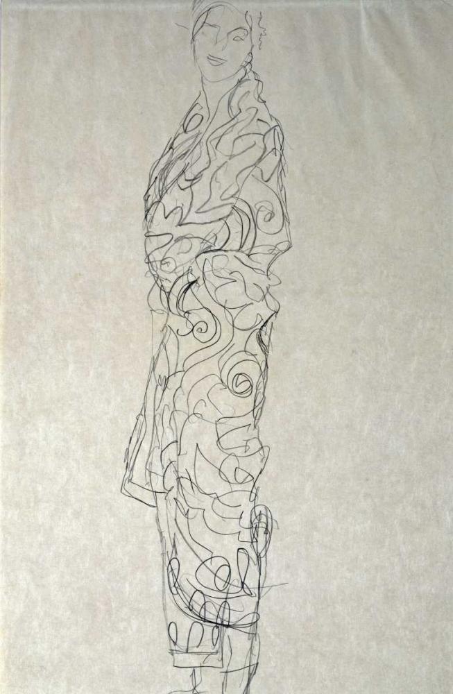 Woman In a Kimono Klimt, Gustav 89723