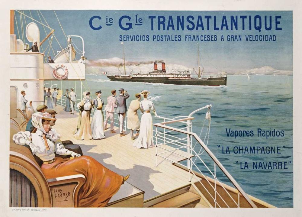 Cie. Gle. Transatlantique Lessieux, Ernest Louis 89764