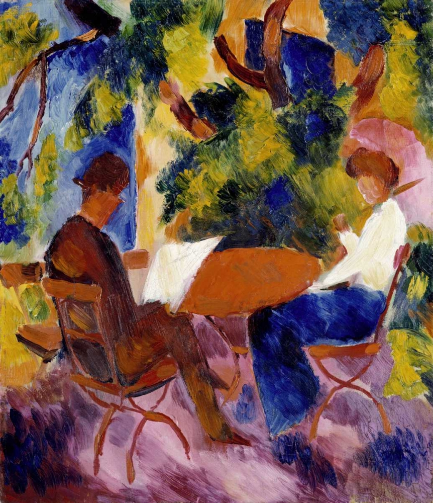 At The Garden Table Macke, August 89780