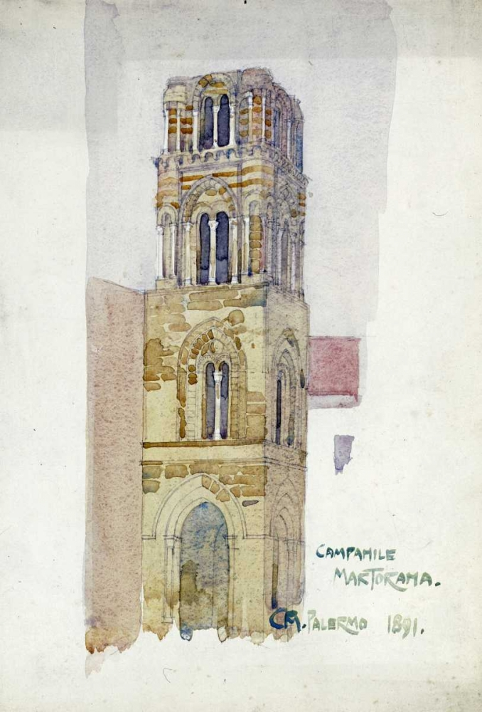 Palermo, Campanile Martorana Mackintosh, Charles Rennie 89788