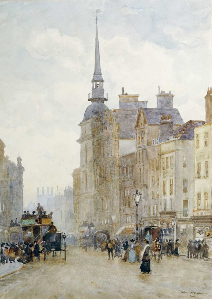 Looking Down Ludgate Hill Marshall, Herbert Menzies 89806