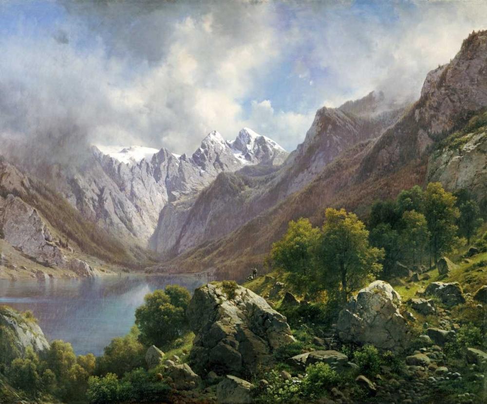 An Alpine Lake Millner, Karl 89824