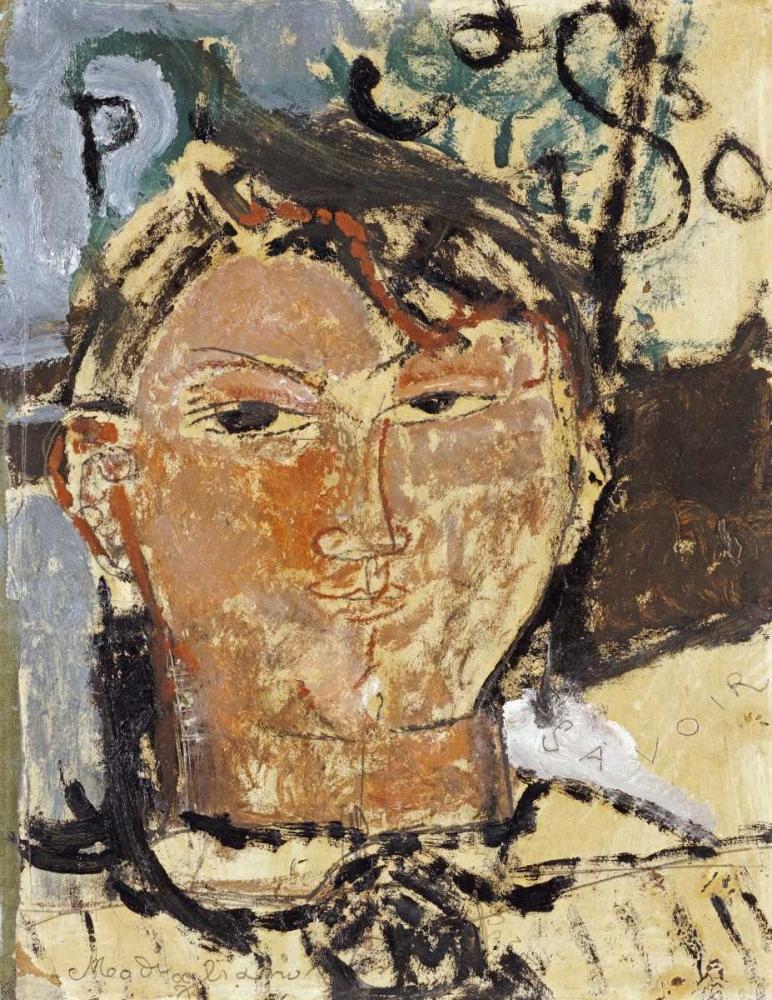 Portrait De Picasso Modigliani, Amedeo 89831