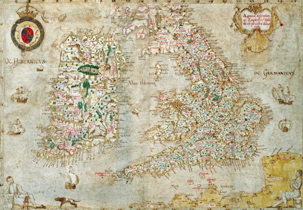 A General Description of England and Ireland Nowell, Laurence 89857