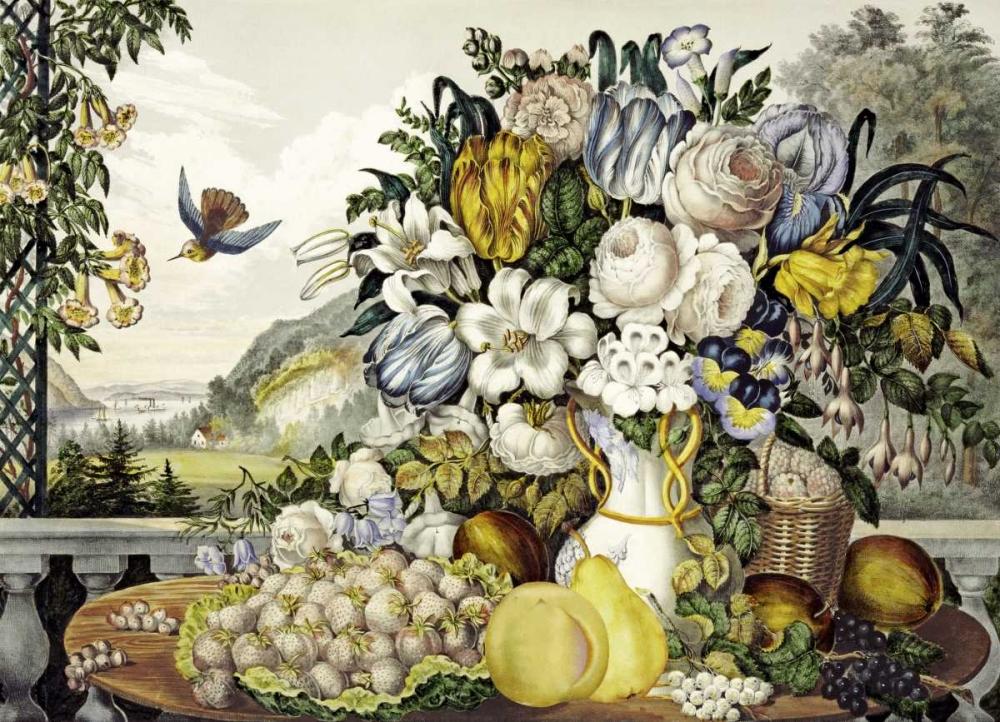 Landscape, Fruit and Flowers Palmer, Frances Flora Bond 89865